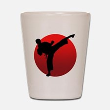 KARATE keri Shot Glass