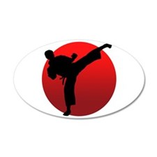 KARATE keri Wall Decal