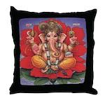 Ganesha Throw Pillow