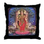 Goddess of Wealth Throw Pillow