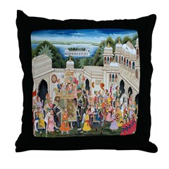 Victory Procession Throw Pillow
