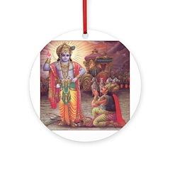 Krishna Ornament (Round)