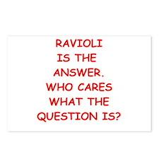 ravioli Postcards (Package of 8)