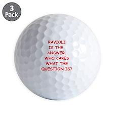 ravioli Golf Ball