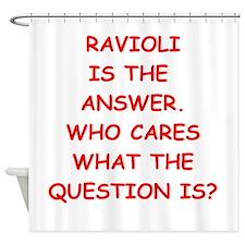 ravioli Shower Curtain