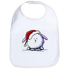 Holiday Dust Bunny Bib