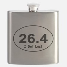 "26.4 ""I Got Lost"" Flask"