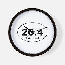 """26.4 """"I Got Lost"""" Wall Clock"""
