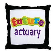 Future Actuary Throw Pillow