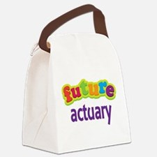 Future Actuary Canvas Lunch Bag