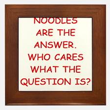 noodles Framed Tile