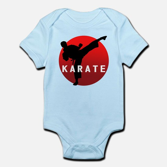 KARATE keri 1 Infant Bodysuit