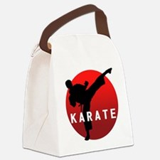 KARATE keri 1 Canvas Lunch Bag