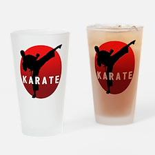 KARATE keri 1 Drinking Glass