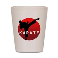 KARATE keri 1 Shot Glass