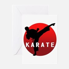 KARATE keri 1 Greeting Cards (Pk of 10)