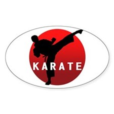 KARATE keri 1 Decal