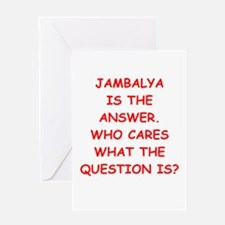 jambalya Greeting Card