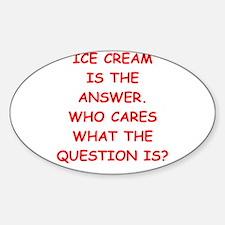 ice cream Decal