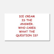 ice cream Car Magnet 20 x 12