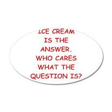 ice cream Wall Decal