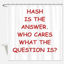 hash Shower Curtain