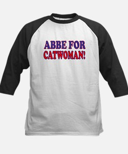"""Abby For Catwoman"" Kids Baseball Jersey"