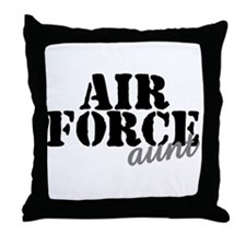 AF Aunt Throw Pillow