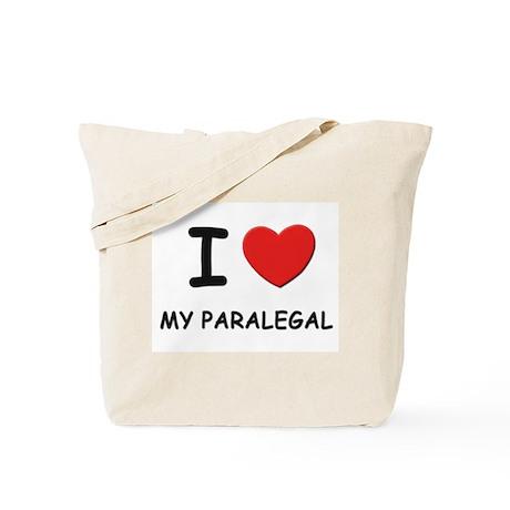 I love paralegals Tote Bag