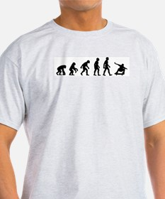 Evolution of Skate Ash Grey T-Shirt