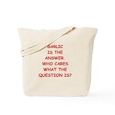 garlic Tote Bag