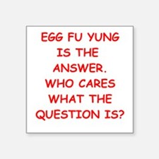 egg fu young Sticker