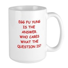 egg fu young Mug