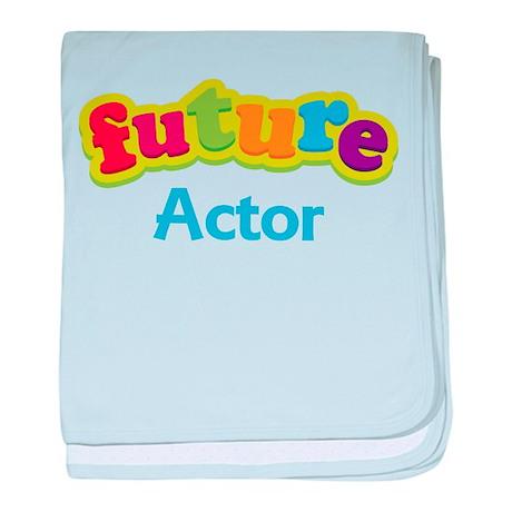 Future Actor baby blanket