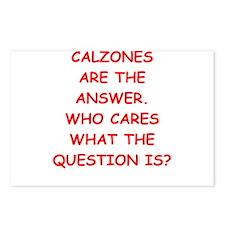 calzones Postcards (Package of 8)