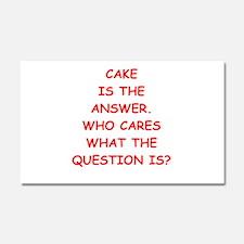 CAKE Car Magnet 20 x 12