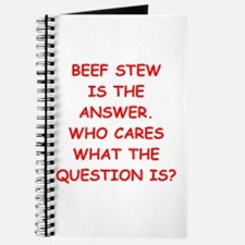 beef stew Journal