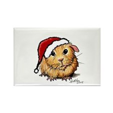 Christmas Cavy Rectangle Magnet