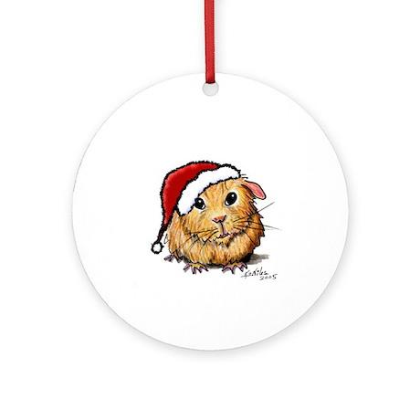Christmas Cavy Ornament (Round)