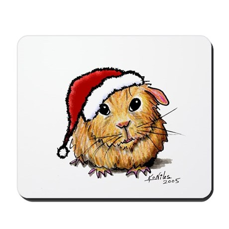 Christmas Cavy Mousepad