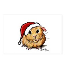 Christmas Cavy Postcards (Package of 8)