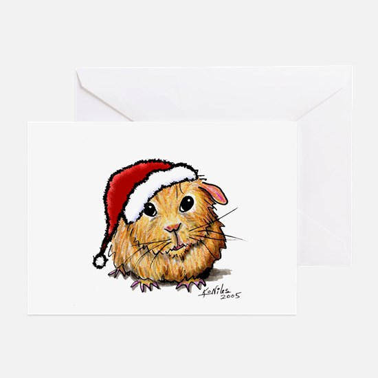 Christmas Cavy Greeting Cards (10-Pk)