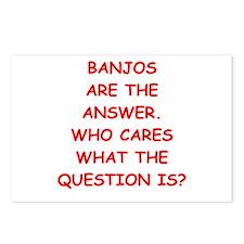 banjo Postcards (Package of 8)