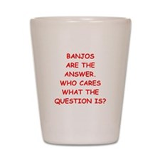 banjo Shot Glass