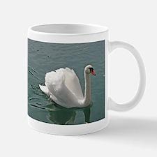 Reflective white swan Tasse