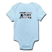 Curling lover designs Infant Bodysuit