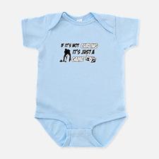 Curling lover designs Infant Bodysuit