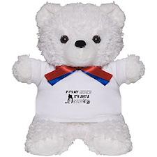 Curling lover designs Teddy Bear