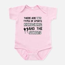 Kickboxing designs Infant Bodysuit