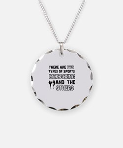 Kickboxing designs Necklace